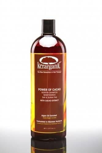 Kerarganic Кератиновый шампунь безсульфатный для домашнего ухода Power of Cacao kerarganic органический шампунь для укрепления волос scalp