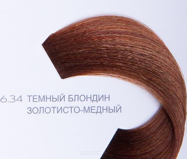 LOreal Professionnel, Краска для волос Dia Light, 50 мл (34 оттенка) 6.34 тёмный блондин золотисто-медный