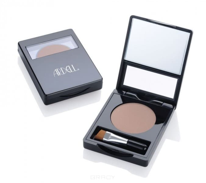 Ardell, Пудра для бровей Brow Defining Powder Soft Taupe, 2,2 гр (2 цвета), Светло-коричневая, 2,2 гр