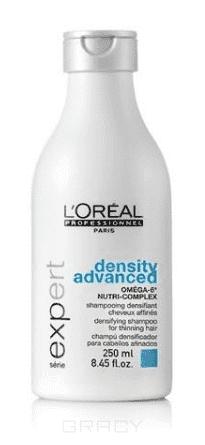 L'Oreal Professionnel Шампунь для укрепления волос Serie Expert Aminexil Density advanced shampoo, 250 мл шампунь для укрепления волос l oreal professionnel omega 6 density advenced bodifying shampoo 300ml