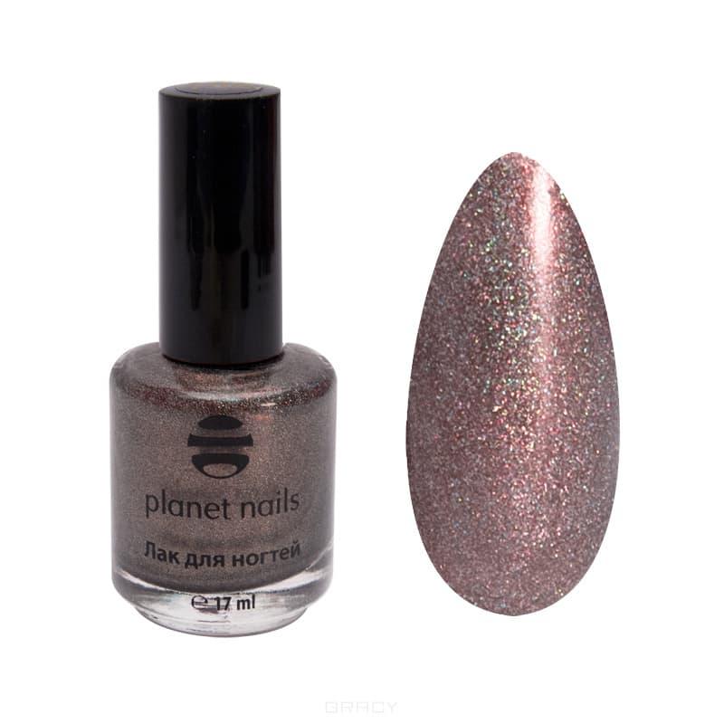 Planet Nails, Голографический лак для ногтей, 17 мл (34 оттенка) Голографический лак для ногтей