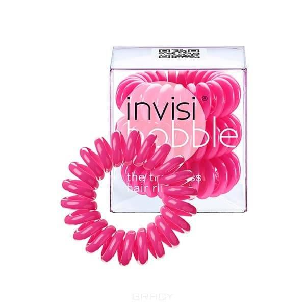 Invisibobble Резинка для волос розовая Candy Pink (3 шт.), Резинка для волос розовая Candy Pink (3 шт.), 3 шт power резинка браслет для волос розовая