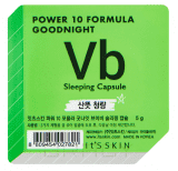 "Power 10 Formula Goodnight Sleeping Capsule VB Ночная маска-капсула для проблемной кожи ""Пауэр 10 Формула Гуднайт"" Итс Скин, 5 г"
