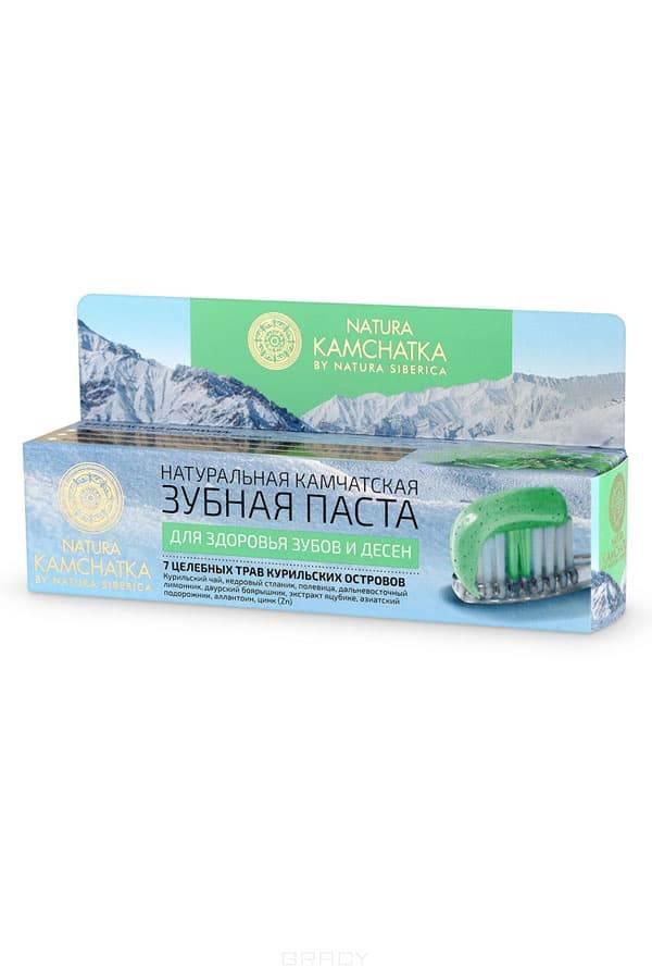Natura Siberica, Натуральная камчатская зубная паста для здоровья зубов и десен Kamchatka, 100 мл