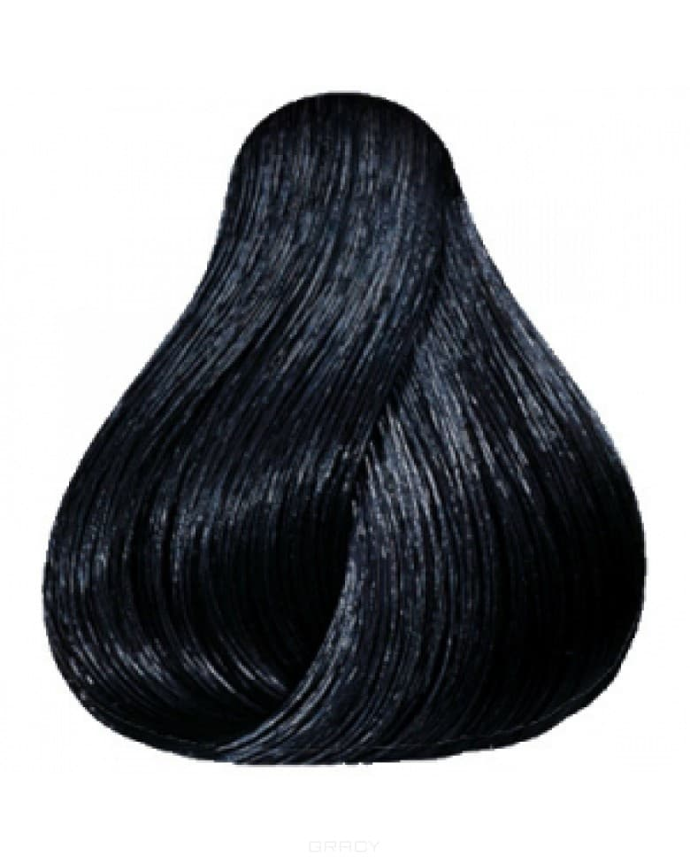 Wella, Краска для волос Color Touch, 60 мл (50 оттенков)  2/0 черный