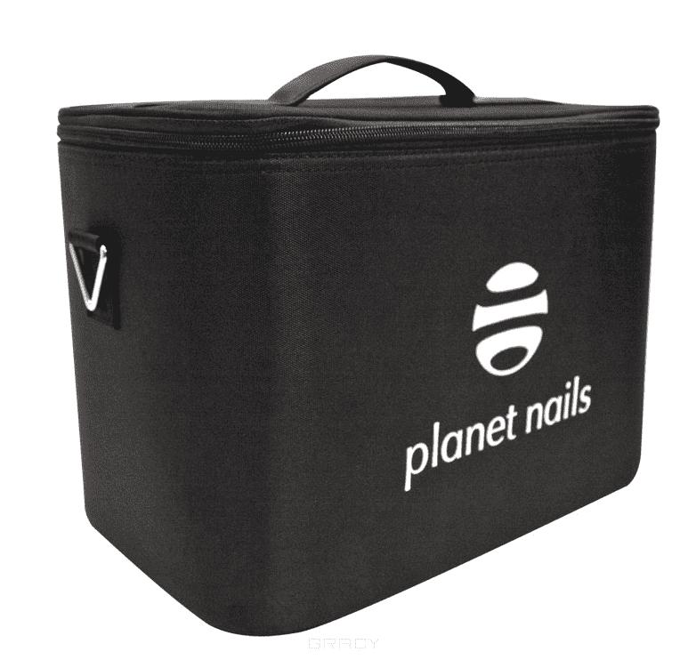 Planet Nails Сумка мастера Mini Tool box Black средний