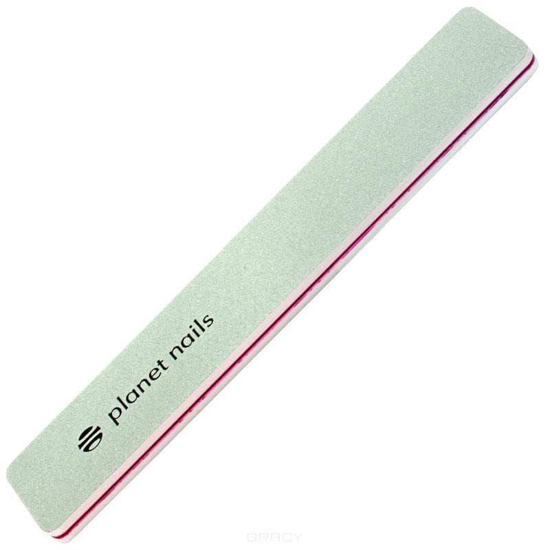 Planet Nails Пилка полировочная широкая Ультра блеск 400/4000 dewal professional пилка для ногтей прямая белая 80 80 18 см
