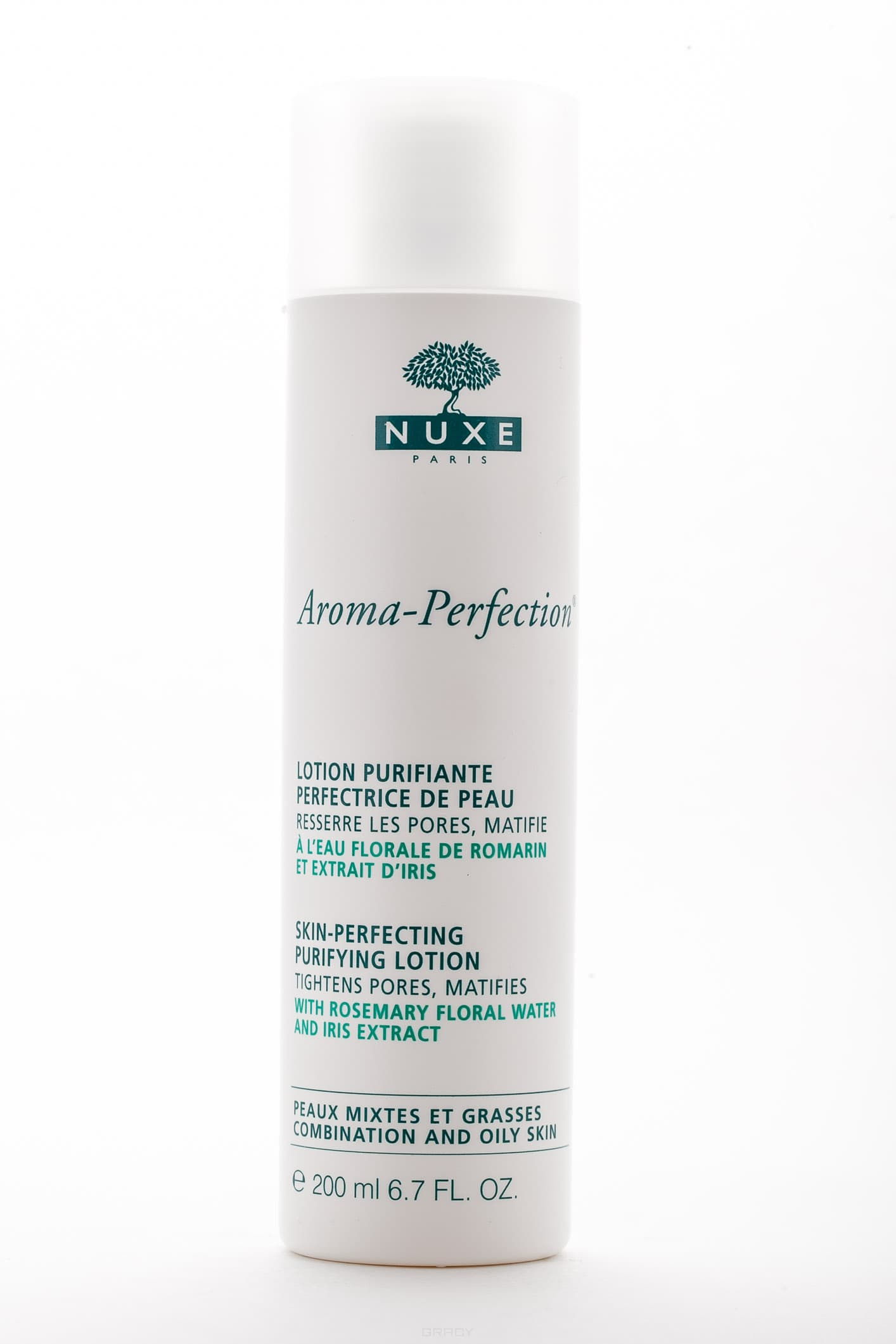 Nuxe Матирующий лосьон Aroma-Perfection, 200 мл скраб nuxe gommage corps fondant объем 200 мл