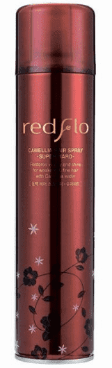 Купить Flor de Man - Лак для укладки волос с камелией Редфло , суперфиксация Redflo Camellia Hair Spray - Super Hard, 300 мл