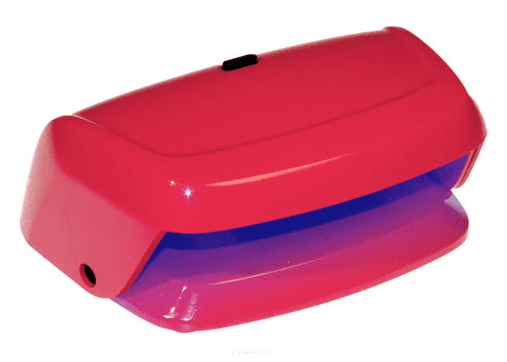 Planet Nails, LED лампа Pretty (2 цвета), 1 шт, Красный