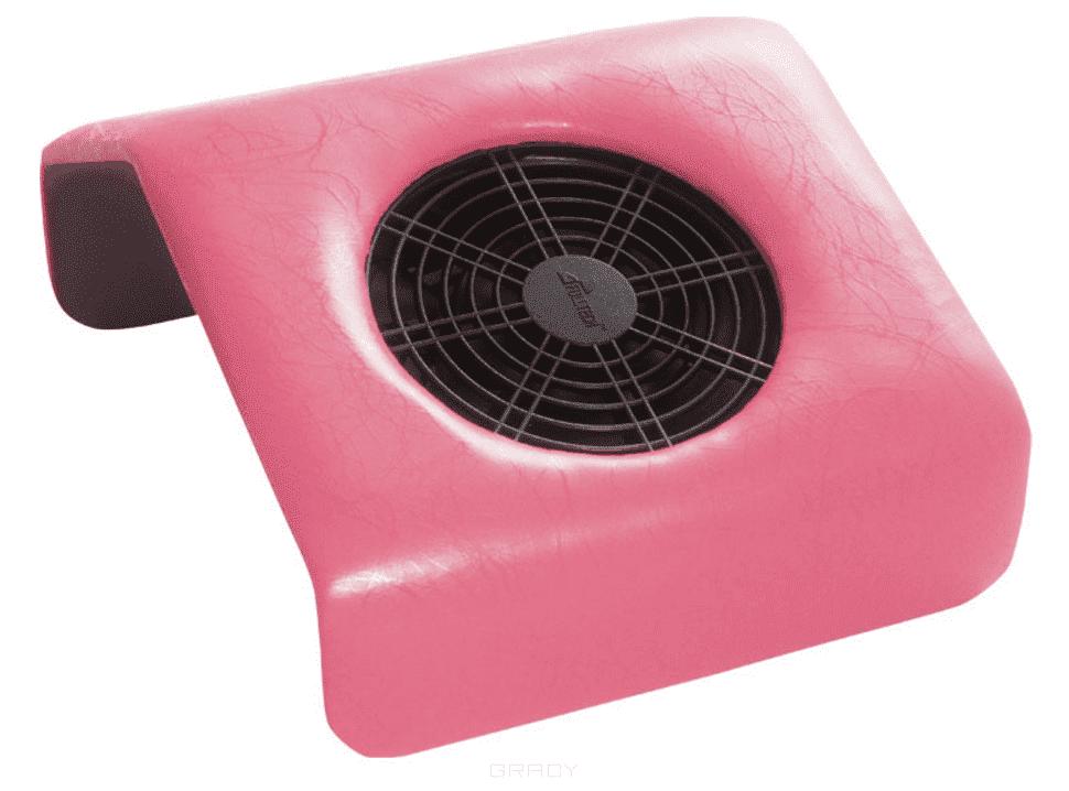 Planet Nails, Мини подставка-пылесос для маникюра Розовый