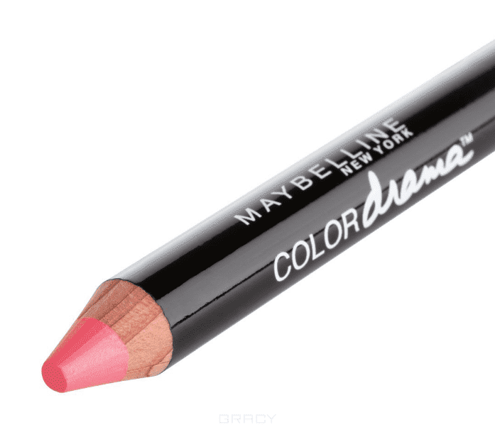 Maybelline, Помада-карандаш для губ Color Drama, 6 г (7 оттенков) 420 Соблазнительный коралловый