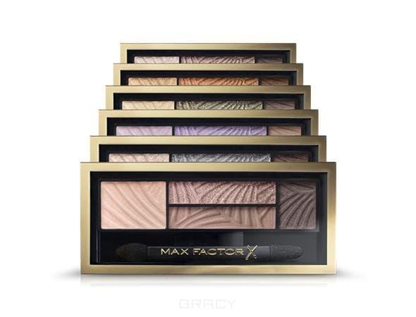 Max Factor Тени для век 4-х цветные Smokey Eye Drama Kit (6 оттенков), №02 Lavish Onyx, 1 шт onyx boox max