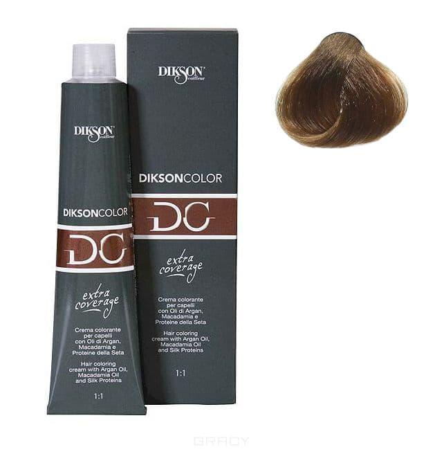 Dikson, Стойкая парфюмированная крем-краска для волос Extra Coverage, 120 мл (8 оттенков) 121-07 7,00 Dikson extra coverage 7N/E русый