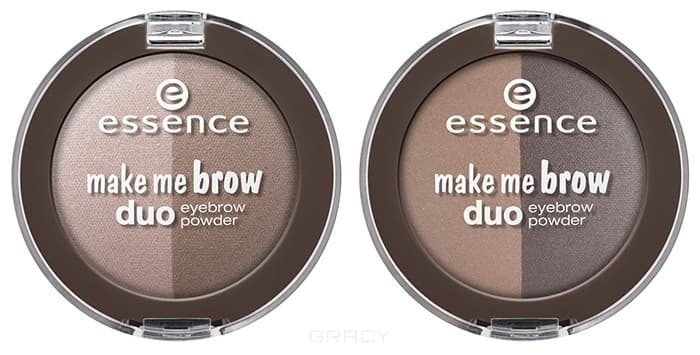 Essence Тени для бровей Make Me Brow Duo Eyebrow Powder, Тени для бровей Make Me Brow Duo Eyebrow Powder, т.02 Для брюнеток motorcycle tank side cover panels fairing for suzuki gsxr600 gsxr750 gsxr 600 750 k6 2006 2007 06 07 carbon fiber parts 2 pcs