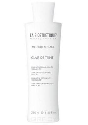 La Biosthetique Мягко стимулирующая очищающая эмульсия для сухой, уставшей кожи Methode Anti-Age Clair de Teint Stimulant, 250 мл, Мягко стимулирующая очищающая эмульсия для сухой, уставшей кожи Clair de Teint Stimulant, 250 мл, 250 мл methode cholley suisse эмульсия для тела biolaston 200ml