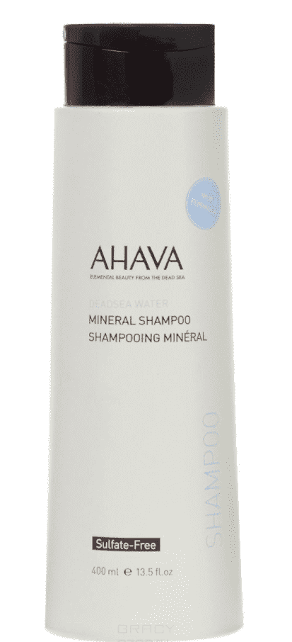 Ahava Минеральный шампунь Deadsea Water, 400 мл ahava deadsea water body trio набор deadsea water body trio набор