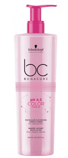 Schwarzkopf Professional Мицеллярный Очищающий Кондиционер BC pH 4.5 Color Freeze, 500 мл