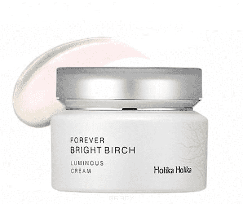 Holika Holika Крем для лица осветляющий Forever Bright Birch Luminous Cream, 55 мл the yeon yo woo cream крем для лица осветляющий 100 мл