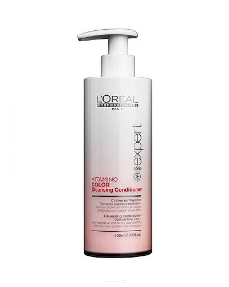 L'Oreal Professionnel Очищающий кондиционер для чувствительных окрашенных волос Vitamino Color AOX, 400 мл шампунь для окрашенных волос l oreal professional технические шампуни