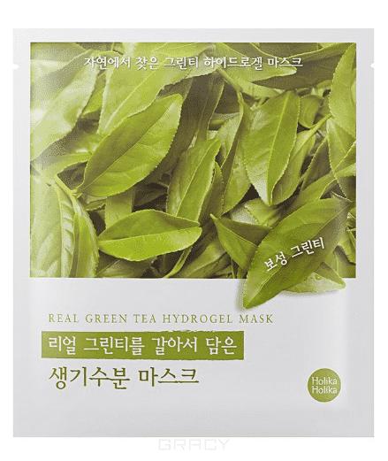Купить Holika Holika - Гидрогелевая маска Силы природы - зеленый чай Found From Nature Green Tea Hydrogel Mask, 32 г