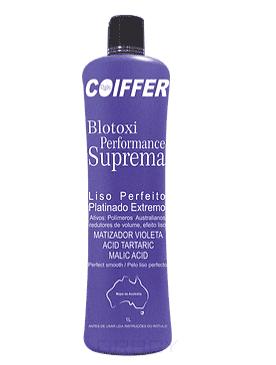 Coiffer Система для выпрямления волос и придания оттенка Платиновый блонд Performance Suprem Шаг 3, 50 мл