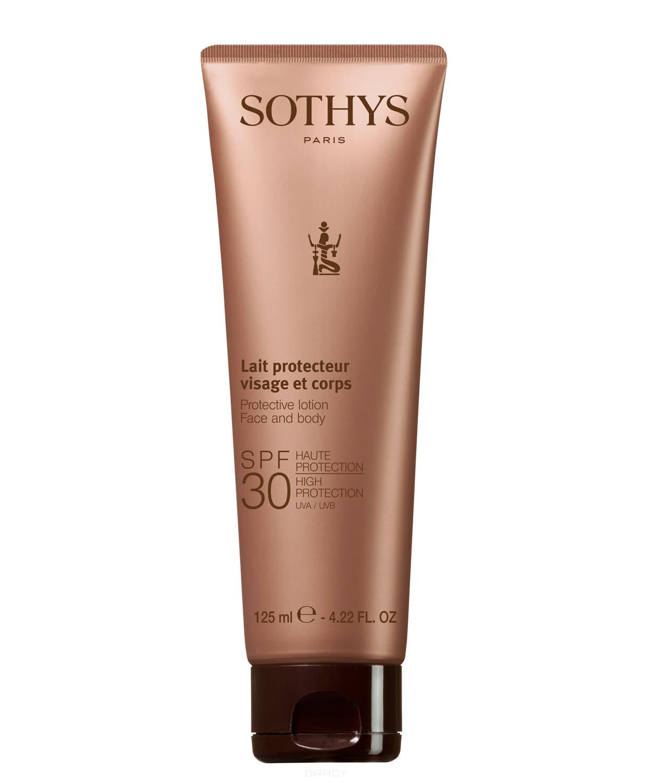 Sothys Эмульсия SPF30 для чувствительной кожи лица и тела, 125 мл, Эмульсия SPF30 для чувствительной кожи лица и тела, 125 мл, 125 мл janssen эмульсия для лица и тела с максимальной защитой spf 50 75 мл