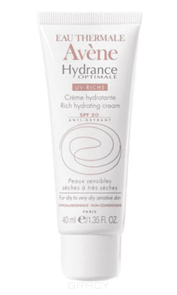 Avene Увлажняющий защитный крем для сухой кожи UV20 Риш Hydrance, 40 мл