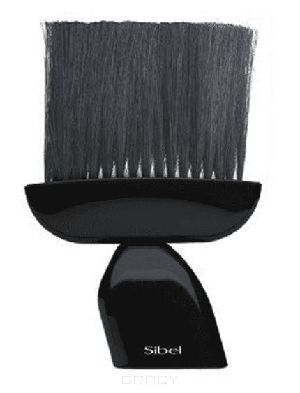 Sibel Щетка-сметка черная щетка для одежды camellia 4404