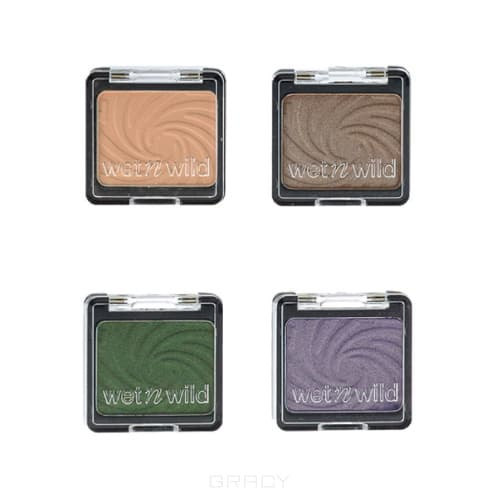 Wet n Wild Тени для век одноцветные Color Icon Eyeshadow Single, (4 тона), 1 шт, E251a brulee