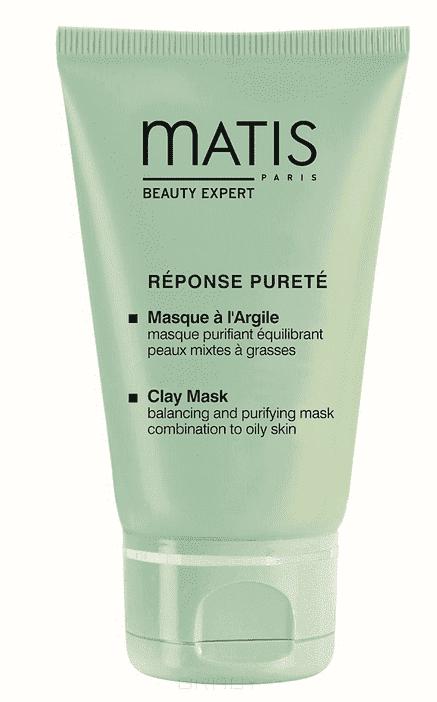 Matis Маска очищающая балансирующая Линия Для Жирной Кожи, 50 мл matis маска для лица линия жирной кожи очищающая балансирующая 50 мл
