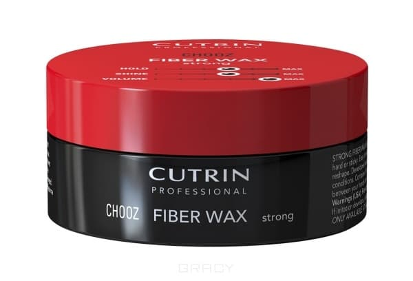 Cutrin - Гель-воск сильной фиксации Fiber Wax Strong, 100 мл