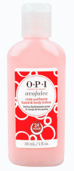 OPI Лосьон для рук Клюква Avojuice, 250 мл opi лосьон для рук и тела opi avojuice skin quenchers spiced persimmon hand