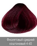 Nirvel, Краска для волос ArtX (95 оттенков), 60 мл 4-65 Фиолетовый каштановый