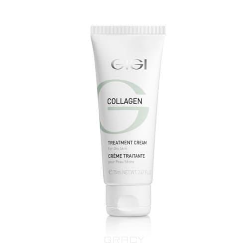 GiGi Крем питательный Collagen Elastin Treatment Cream, 75 мл, Крем питательный Collagen Elastin Treatment Cream, 75 мл, 75 мл недорого