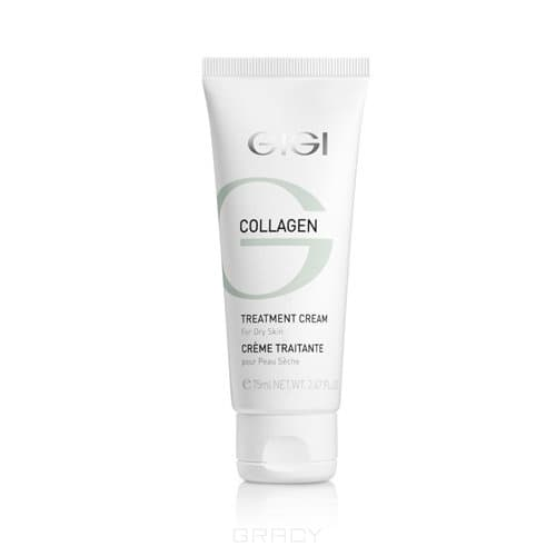 GiGi Крем питательный Collagen Elastin Treatment Cream, 75 мл крем увлажняющий aloe vera moisturizer collagen elastin 75 мл