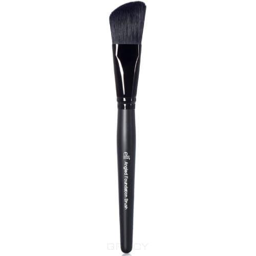 Elf Кисть для нанесения основы, скошенная Studio Angled Foundation Brush pro 15pcs tz makeup brushes set powder foundation blush eyeshadow eyebrow face brush pincel maquiagem cosmetics kits with bag