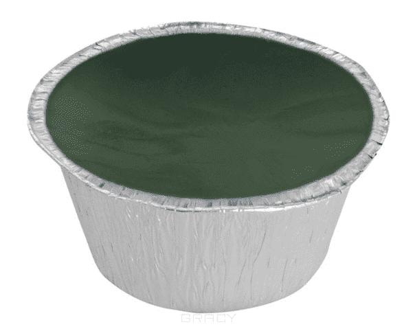 Planet Nails Воск горячий зеленый, 100 г воск для лап mr bruno 100 г