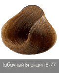 Nirvel, Краска для волос ArtX (95 оттенков), 60 мл 8-77 Табачный блондин