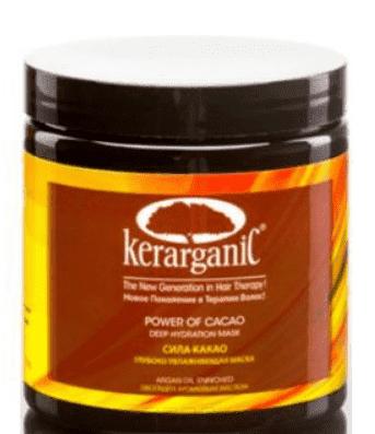 Kerarganic Кератиновая маска Сила Какао постпроцедурная, 118 мл kerarganic органический шампунь для укрепления волос scalp