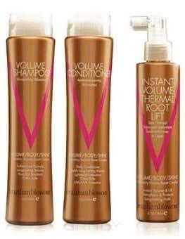 Brazilian Blowout Набор для объема и разглаживания волос (шампунь 350 мл, кондиционер 350 мл, спрей 200 мл)