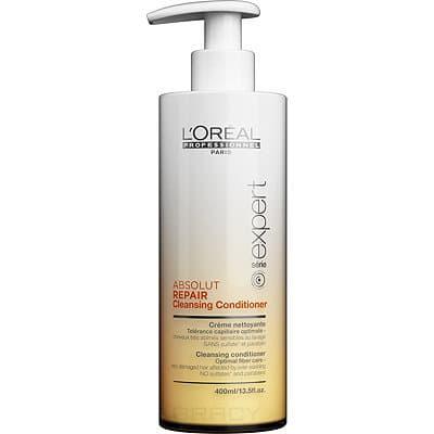 L'Oreal Professionnel Очищающий кондиционер для очень поврежденных чувствительных волос Absolut Repair Lipidium, 400 мл l oreal professionnel lipidium absolut repair nourishing serum 50ml