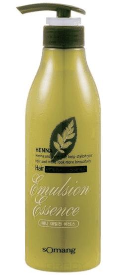 Купить Flor de Man - Укрепляющая эссенция для укладки волос МФ Хэнна Henna Hair emulsion essence, без фиксации, 500 мл