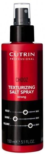 Cutrin Текстурирующий спрей с морской солью сильной фиксации Texturizing Salt Spray Strong, 150 мл cutrin chooz root lifting finishing spray спрей финализатор для прикорневого объема 300 мл