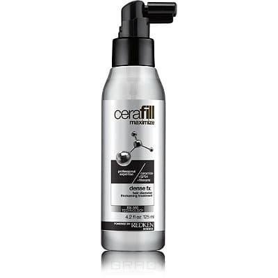 Redken Несмываемый уход для утолщения волоса Cerafill Maximize Dense Fx, 125 мл кондиционер для поддержания плотности сильно истонченных волос cerafill retaliate conditioner 245 мл