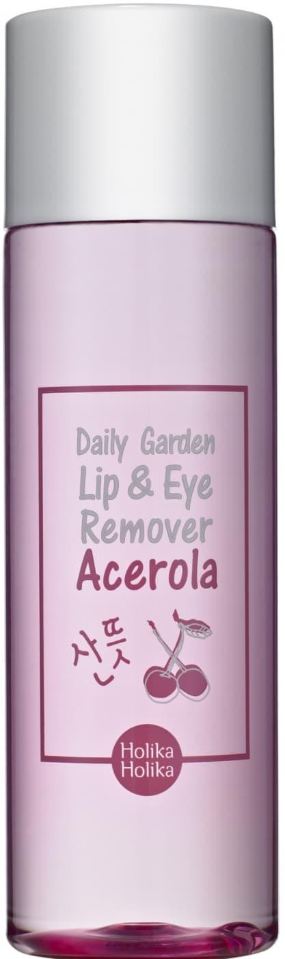 Holika Holika, Средство для снятия макияжа глаз и губ с экстрактом Ацерола Daily Garden Acerola Lip Eye Remover, 100 мл