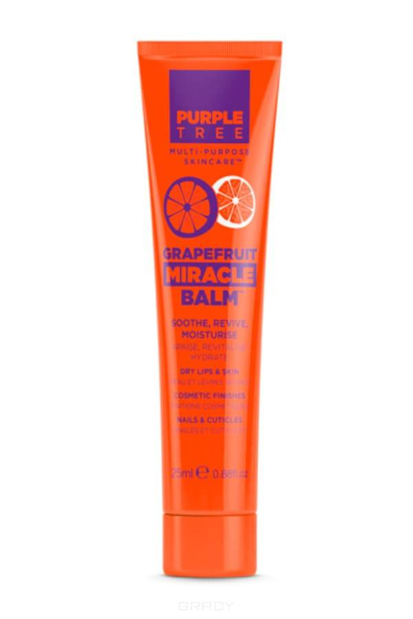 Purple Tree Бальзам для губ Грейпфрут Miracle Balm Grapefruit, 25 мл бальзам для губ purple tree pomegranate miracle balm объем 25 мл