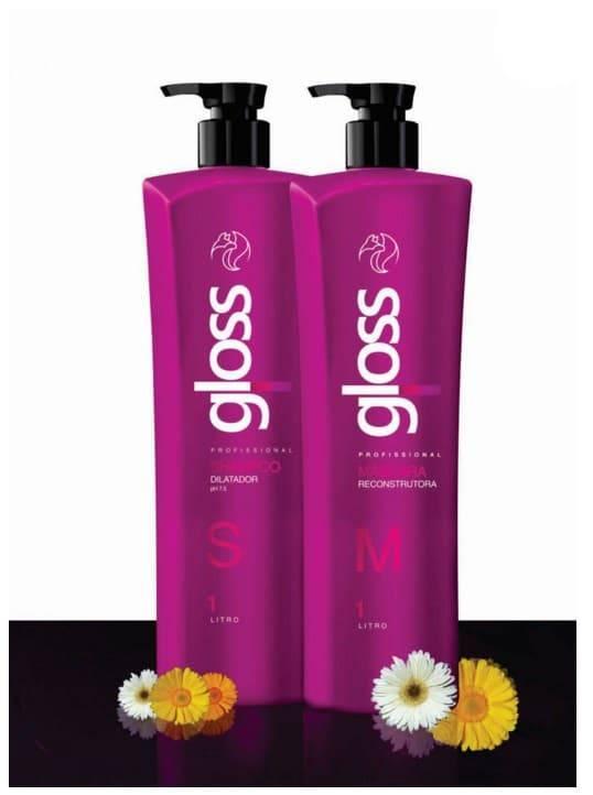 Fox Professional Gloss Линия Выпрямления и реконструкции всех типов волос Фокс Глосс, Линия Выпрямления и реконструкции всех типов волос, 1л*2, 1л/1л