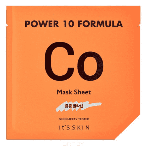 Купить It's Skin - Тканевая маска Пауэр 10 Формула , коллагеновая Power 10 Formula Mask Sheet CO, 25 мл