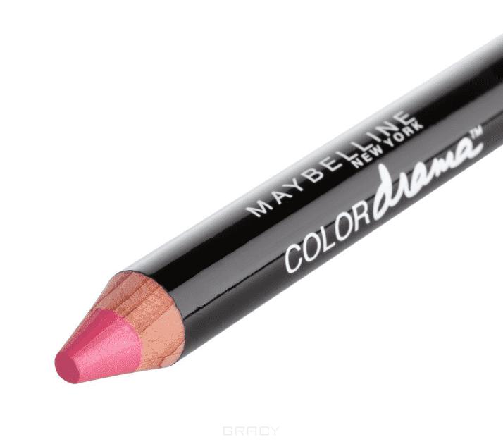 Maybelline, Помада-карандаш для губ Color Drama, 6 г (7 оттенков) 150 Чувственная фуксия
